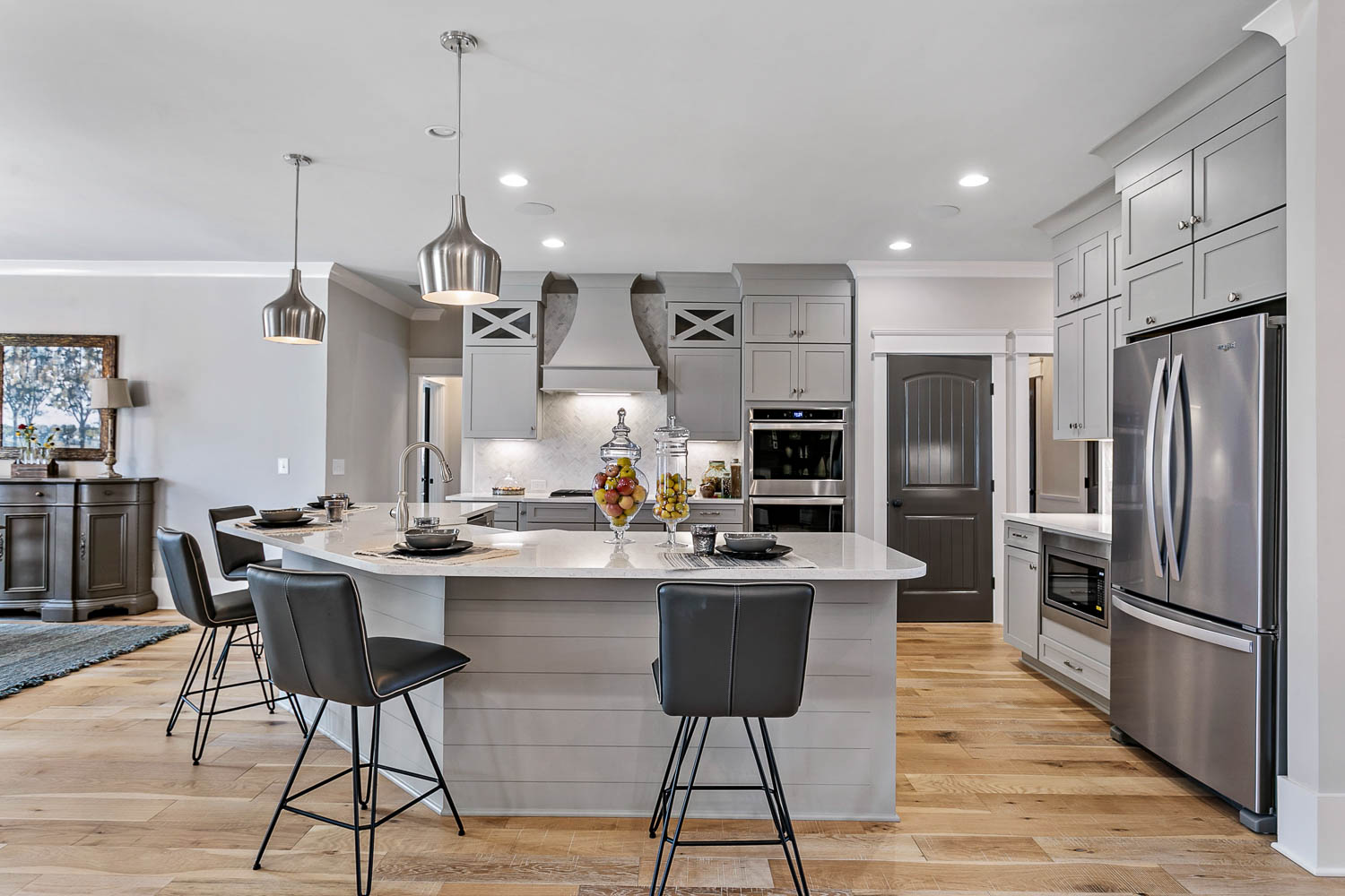 Spacious Kitchen designed by an Elegant Home Designer of Nashville's Luxury Dream Home Plans