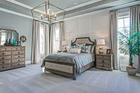 High-end home designs of Master Bedroom by an Elegant Home Designer of Nashville's Luxury Dream Home Plans
