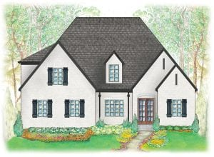 Stirling elevation - High-end home builders for luxury homes - luxury home builder | Nashville, TN