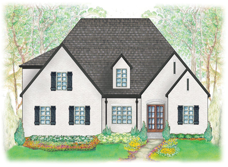 Stirling elevation - High-end home builders for luxury homes - luxury home builder   Nashville, TN