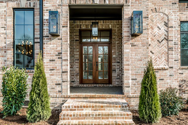 Entrance to a Luxury Home with Elegant Home and Floor Designs